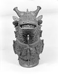 'Guang' Covered Ritual Wine Vessel with Animal and 'Taotie' Decor