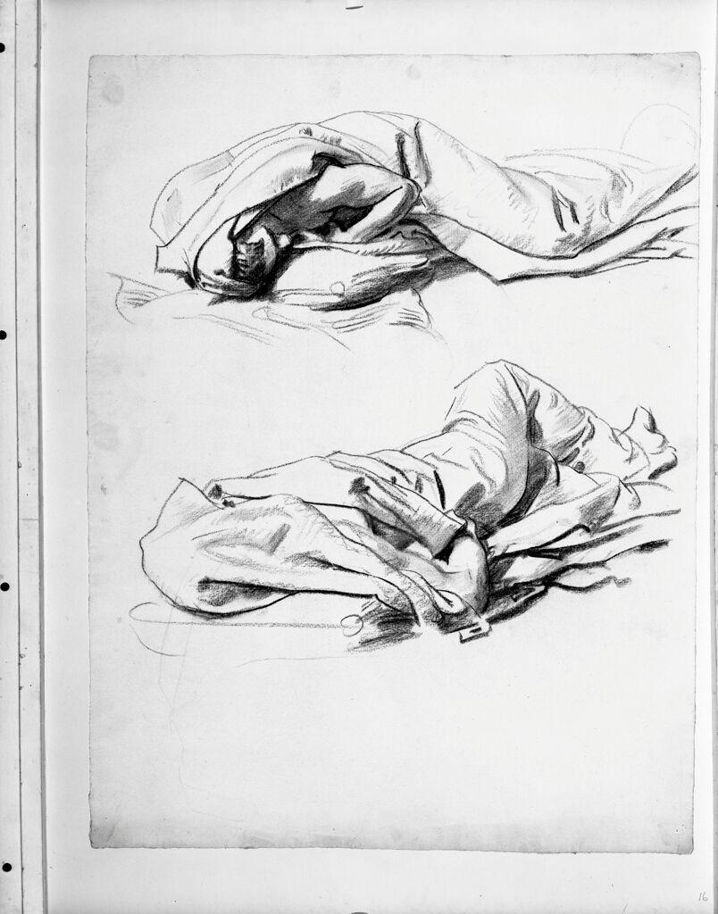 Studies Of Sleeping Figures For