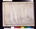 Blank Page; Verso: Landscape With Cattle