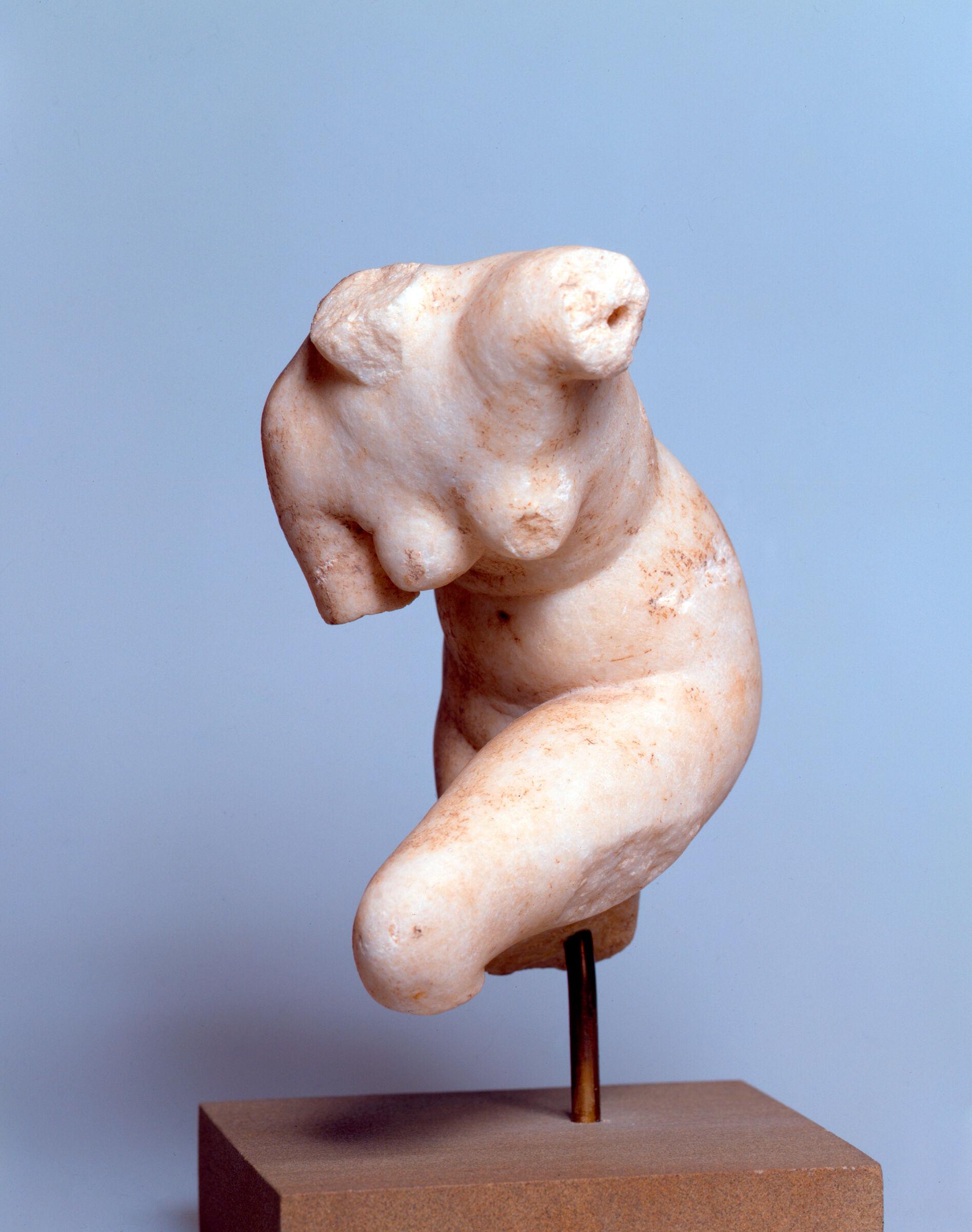 Aphrodite Adjusting Her Sandal