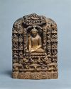 Stele With Scenes From The Life Of The Buddha