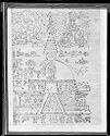 Sketch Of Stupa And Avalokiteshvara (?)