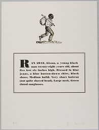 Ran Away, Glenn, A Young Black Man Twenty-Eight Years Old, About Five Feet Six Inches High...