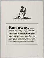 Ran Away, Glenn, A Black Man - Early 30's, Very Short Cropped Hair...