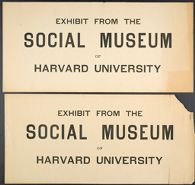 Miscellaneous: Social Museum Signs