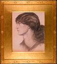 Portrait Head Of Jane Morris