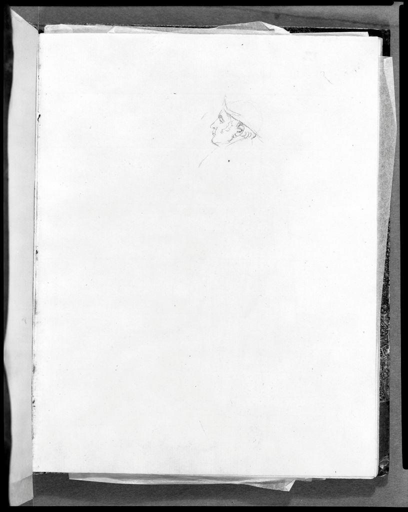 Profile Sketch Of Maréchal Berthier