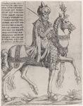 Equestrian Portrait of Sultan Selim II (1524-74), son of Suleiman the Magnificent