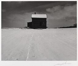 House In Winter, Eastern Nebraska
