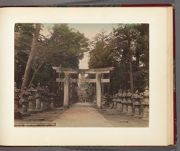 Work 24 of 30 Title: Entrance Toshogu's temple, Uyeno park, T... Date: 188-?