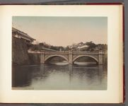 Work 26 of 30 Title: Imperial Palace bridge, Tokyo Date: 188-?