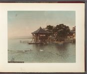 Work 2 of 32 Title: Ukimido (temple), Lake Biwa Date: 188-?