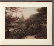 Work 3 of 32 Title: Ishiyama-dera, Otsu Creator: Tamamura, Kozaburo Date: ca. 1885