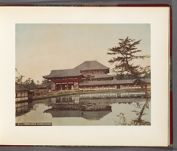 Work 10 of 32 Title: Temple, Nara (Daibutsu-do) Creator: Attributed to Kusakabe, Kimbei Date: 188-?
