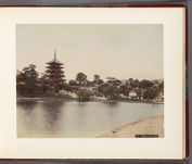 Work 11 of 32 Title: Sarusawa Lake at Nara Date: 188-?
