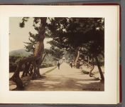 Work 16 of 32 Title: Suma-dera, near Kobe Date: 188-?