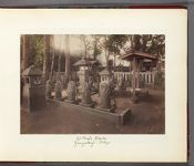 Work 2 of 30 Title: Graves of the Forty-seven Ronin at Senga... Date: 188-?