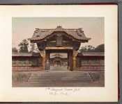 Work 4 of 30 Title: Gate to the tomb of Tokugawa Ietsugu, se... Date: 188-?