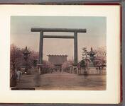 Work 9 of 30 Title: Shokonsha temple, Tokyo Date: ca. 1889
