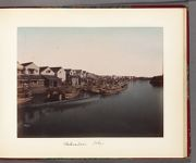 Work 12 of 30 Title: Waterfront in Nihonbashi business distri... Date: 188-?