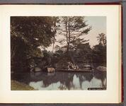 Work 13 of 30 Title: Palace garden, Tokio Creator: Kajima, Seibei Date: 188-?