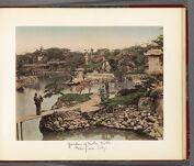 Work 14 of 30 Title: Hotta family garden, Mukojima, Tokyo Creator: Kusakabe, Kimbei Date: ca. 1883