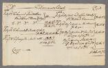 Dummer School acct. as of 1772 January 8, copy mad c. 1777, 1772 January 8 Digital Object
