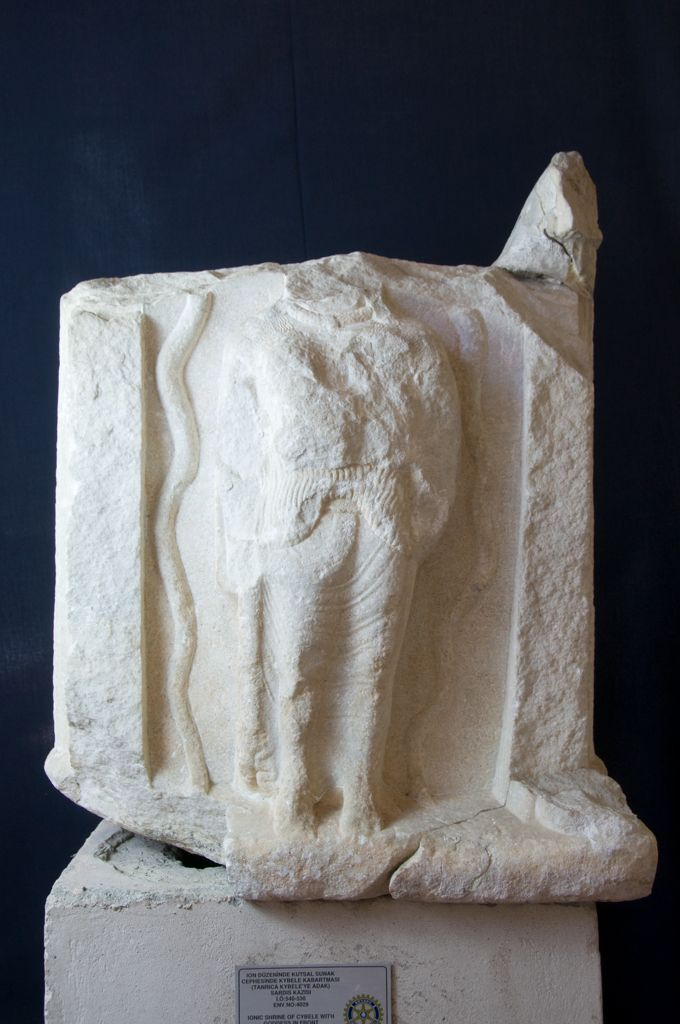 Marble Naiskos of Cybele