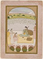 Chitrini Nayika, Page From A Rasikapriya (Handbook For Poetry Connoisseurs)