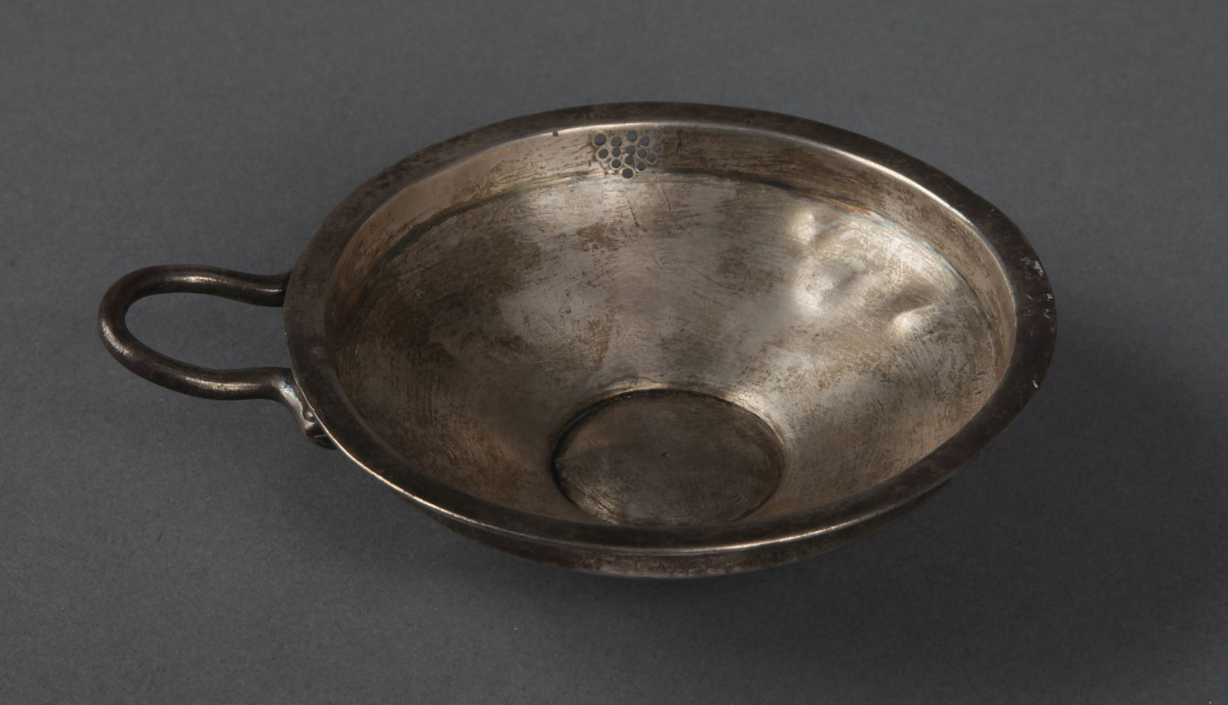 Silver side-spouted dish with Phrygian inscription
