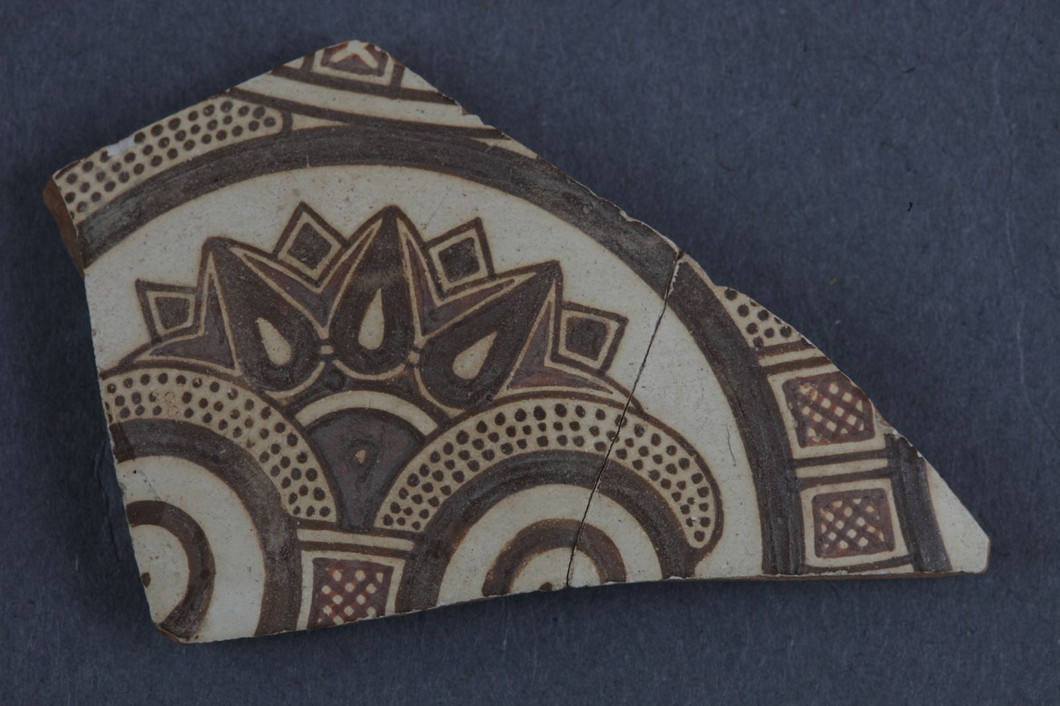 """Ephesian Ware"" omphalos phiale fragment from Ephesus"