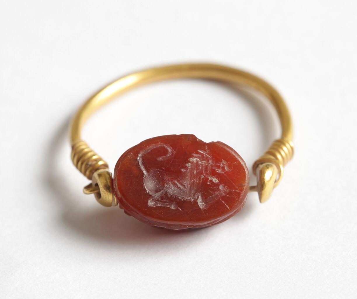 Gold seal ring