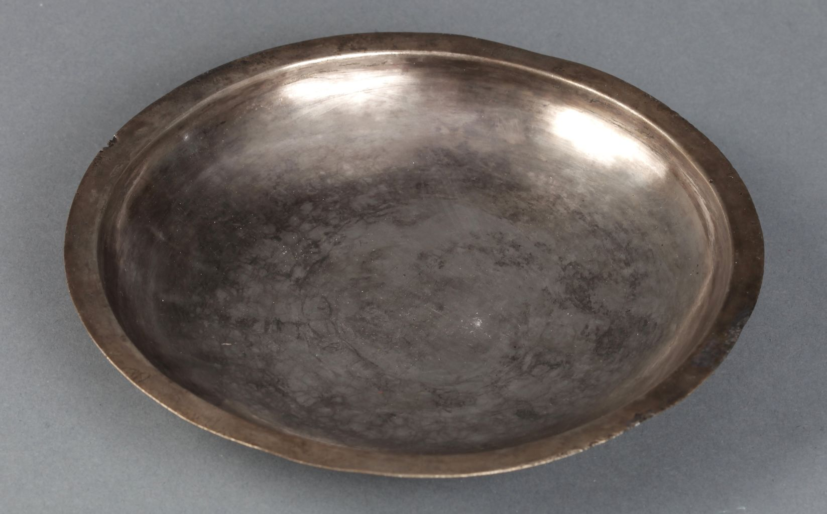 Shallow bowl with inscription