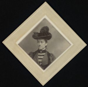 [Williamina P. Fleming, photographic portrait, ca. 1890] Digital Object