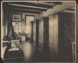 [Observatory stack room, ca. 1891]