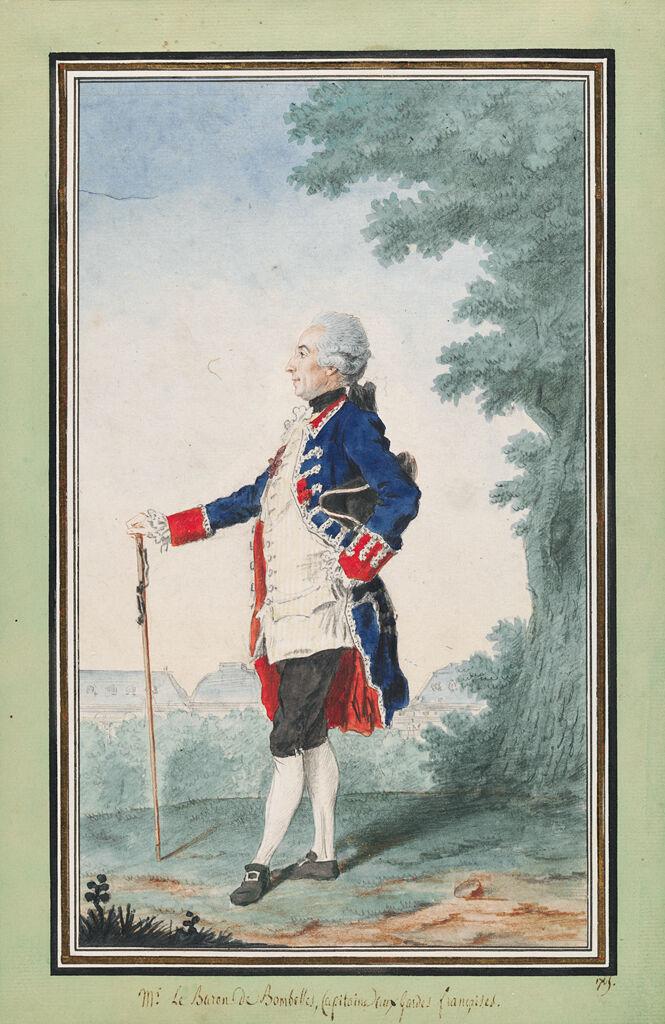 Joseph-Henri De Bombelles, Comte De La Motte-Saint-Lié, In The Tuileries Gardens