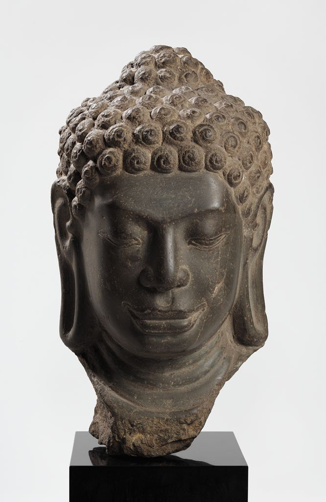 Head Of Buddha, Probably The Buddha Sakyamuni