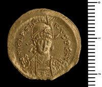 Solidus Of Marcian, Constantinople
