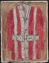 Red Coat; Verso: Back Of Man