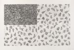 Cancelled plate for Hatching (front endpaper)