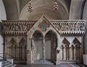 Replica Of The West Choir Screen (C. 1250) In Naumburg Cathedral, Germany