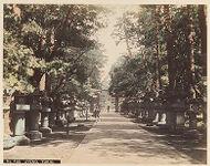Work 4 of 48 Title: Uyeno, Tokio Creator: Tamamura, Kozaburo Date: ca. 1880