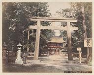 Work 14 of 48 Title: Shimokamo, Kioto Creator: Tamamura, Kozaburo Date: 188-?