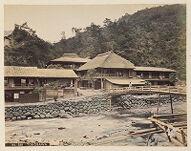 Work 15 of 48 Title: Tonosawa Creator: Tamamura, Kozaburo Date: ca. 1890