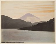 Work 21 of 48 Title: Fuji from Hakone lake Creator: Tamamura, Kozaburo Date: ca. 1890