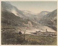 Work 22 of 48 Title: Ojigoku hot spring Creator: Tamamura, Kozaburo Date: ca. 1890