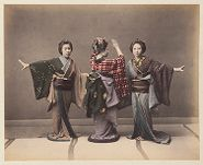 Work 27 of 48 Title: Three women dancing Date: 188-?
