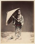 Work 30 of 48 Title: Woman dressed for winter Creator: Stillfried, Baron Raimund von Date: 187-?