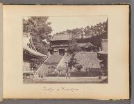 Work 3 of 47 Title: Temple of Kamakura Creator: Beato, Felice Date: 1867?
