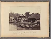 Work 4 of 47 Title: Japanese cottage on the creek--Yokohama Creator: Beato, Felice Date: 1867?